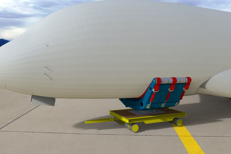 technical data of F.A.S.T.20 - 20 tons fuselage adjusting sling transport