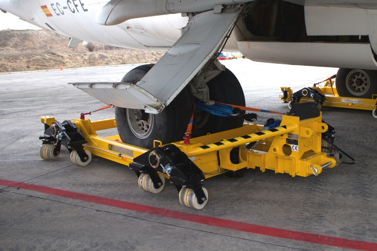 technical data of RD30 - 30 tons aircraft recovery dolly